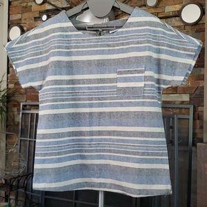 Tops - Linen blend top